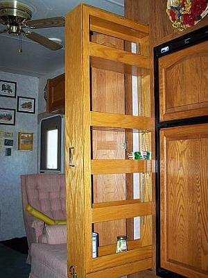 Pantry Modification In Our Custom Rv