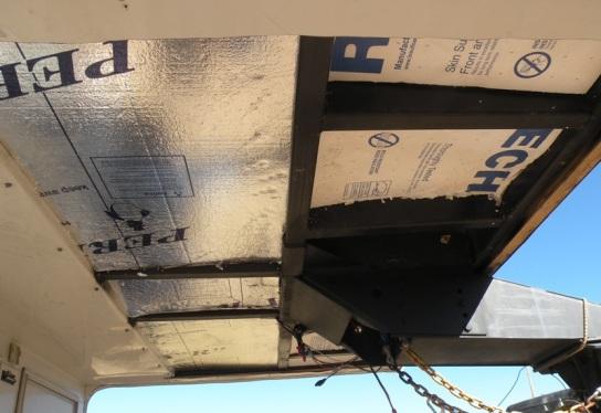 RV Hitch area insulation